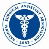 NSAA, National Surgical Assistant Association
